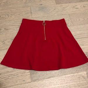 red skater skirt ❤️